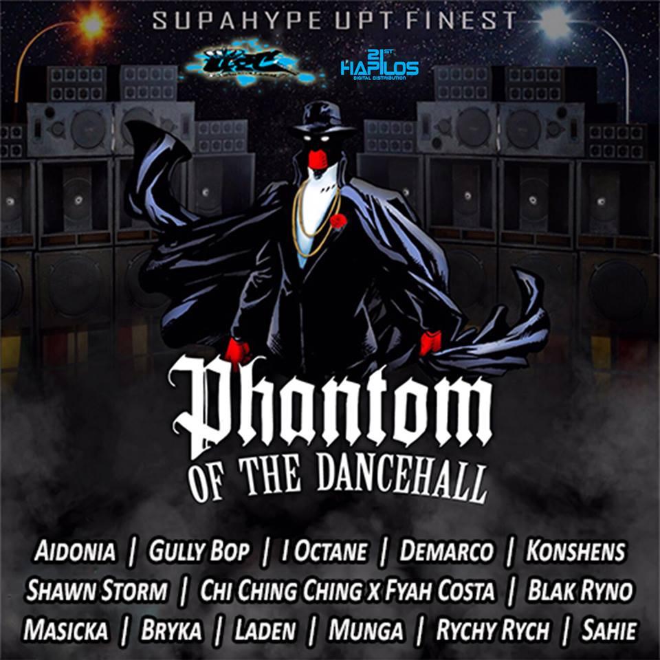 Phantom Of The Dancehall Riddim - DjStefanoMusic com