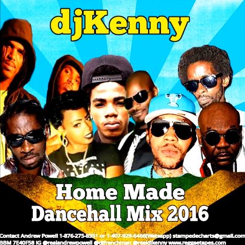 Home Made Dancehall Mix January 2016 - DjStefanoMusic com