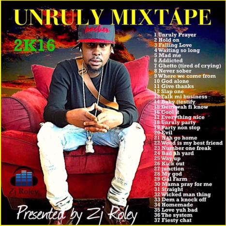 Unruly (Popcaan) Mixtape (January 2016) - DjStefanoMusic com